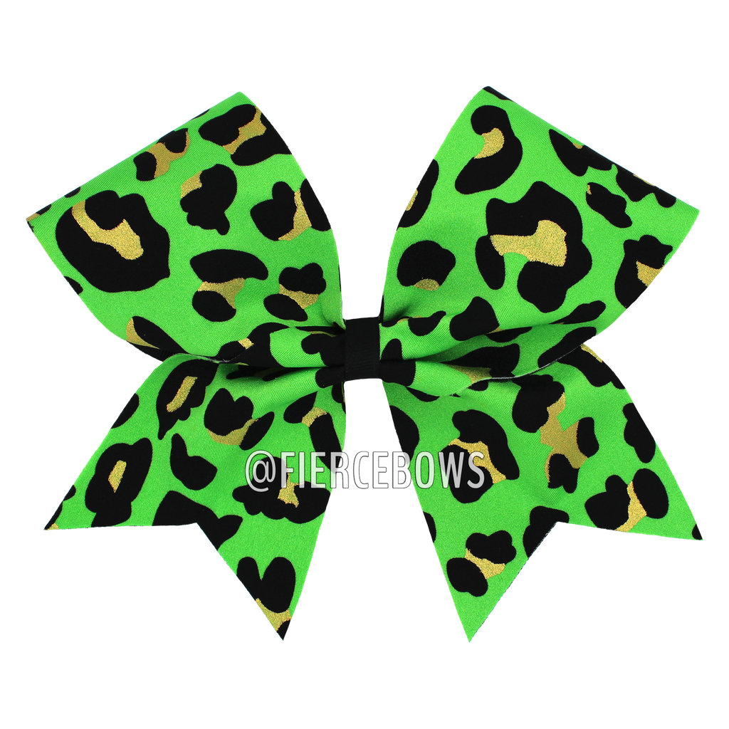 Cheetah Girl Bow