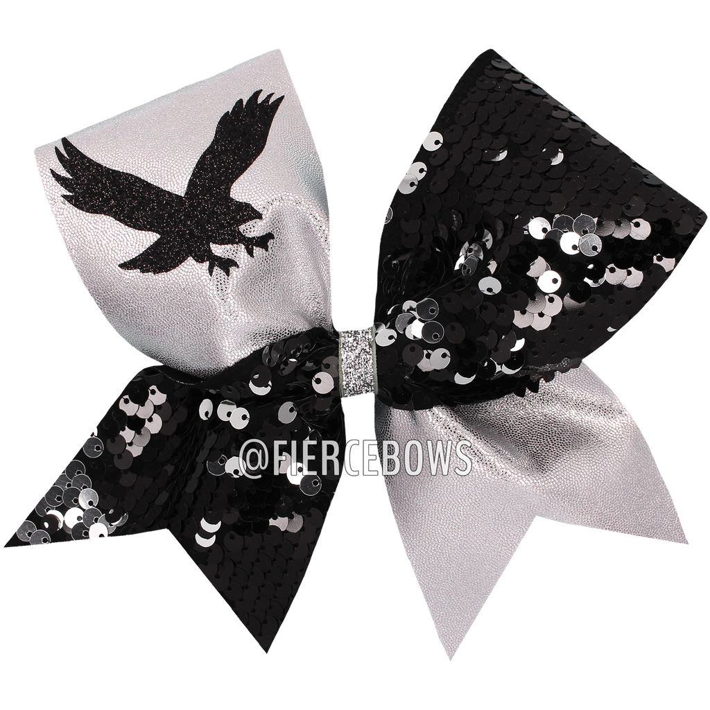 Pick Your Combination Reversible Sequin With Graphic Cheer Bow