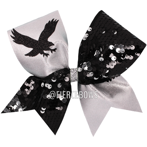 Reversible Sequin Tick Tock - Black/White