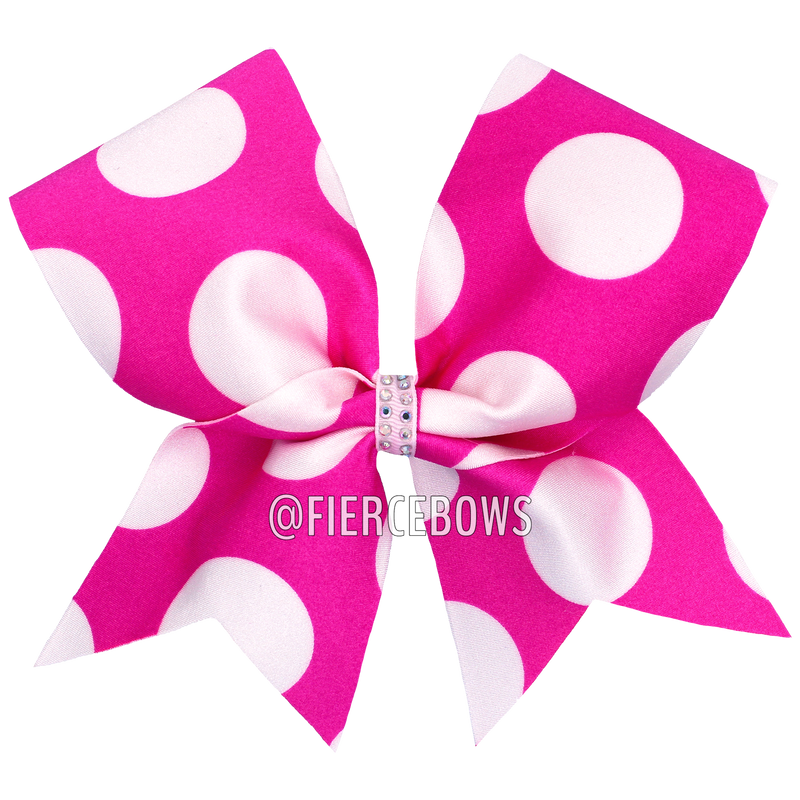 Bubblegum Polka Dot Bow