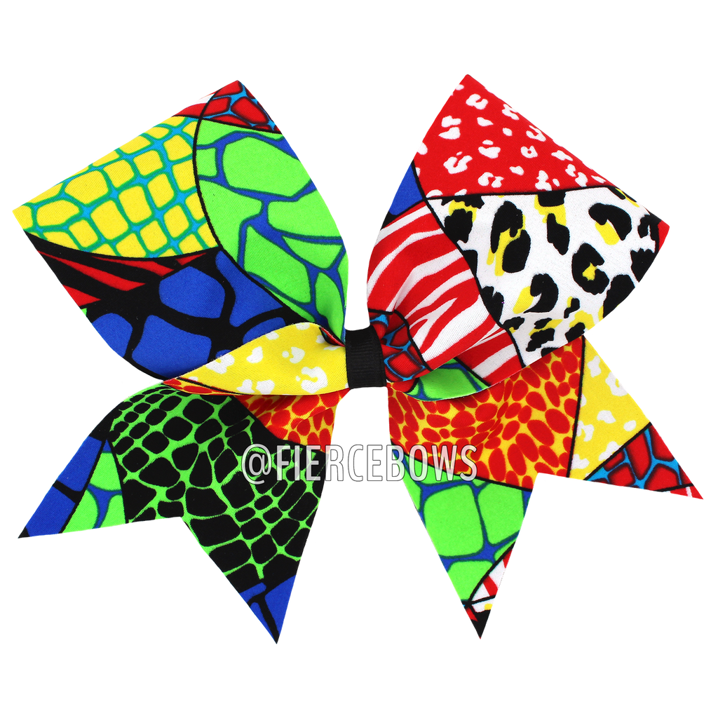 Primary Jungle Cheer Bow