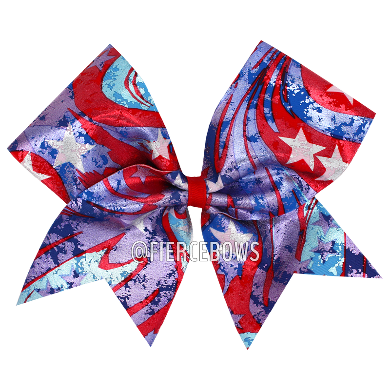 Loyalty Patriotic Bow