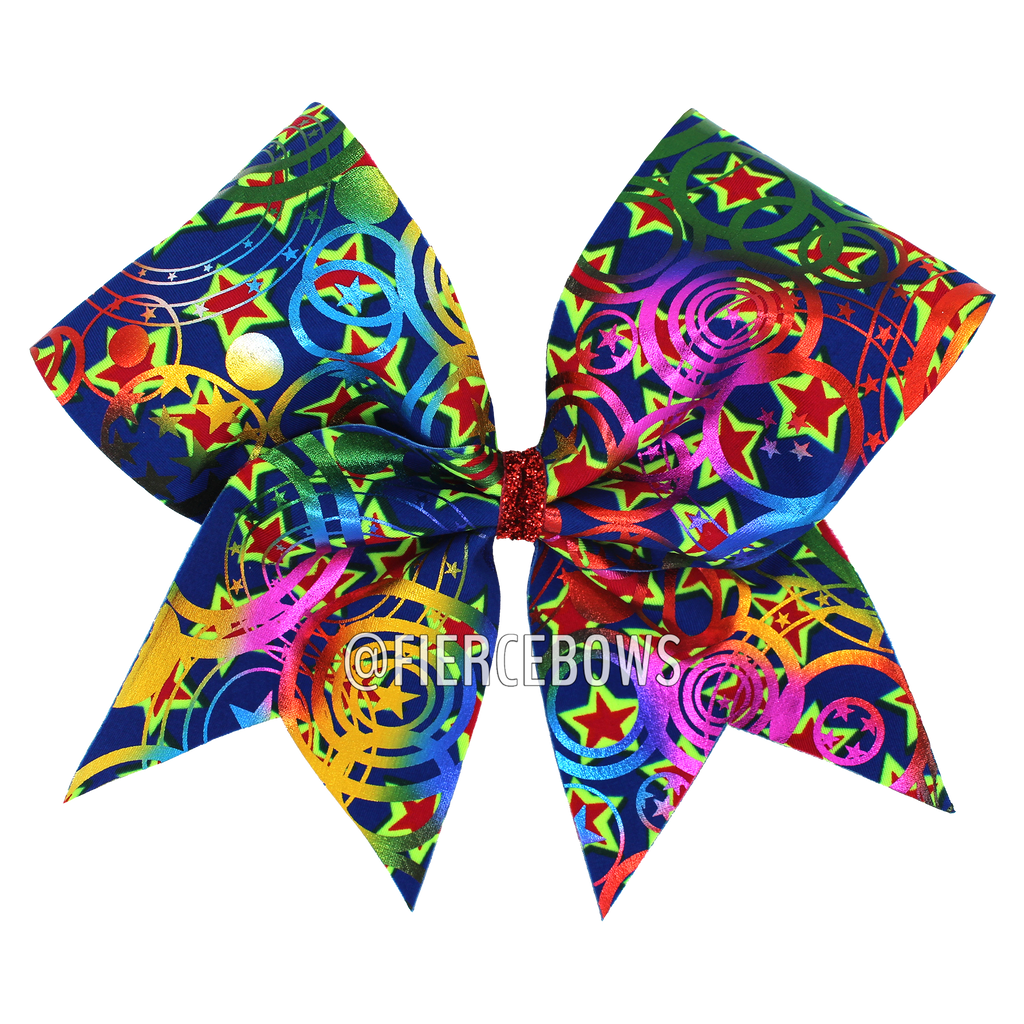 Spinning Stars Holographic Bow