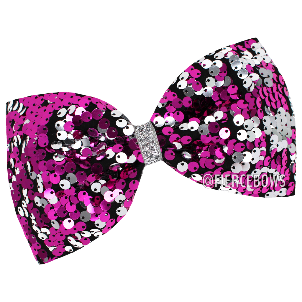 Reversible Sequin Tailless Bow