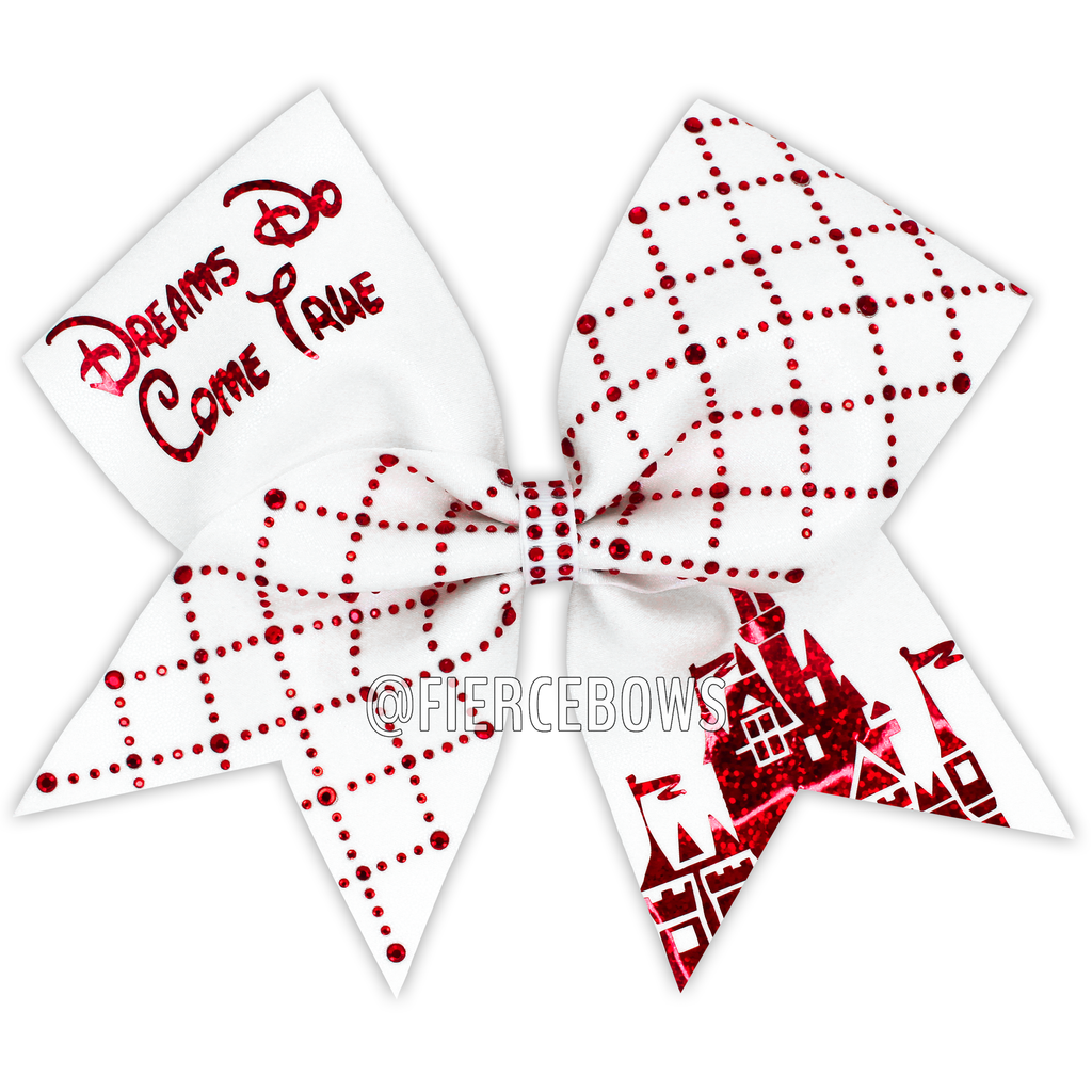 Dreams Do Come True® Rhinestone Cheer Bow
