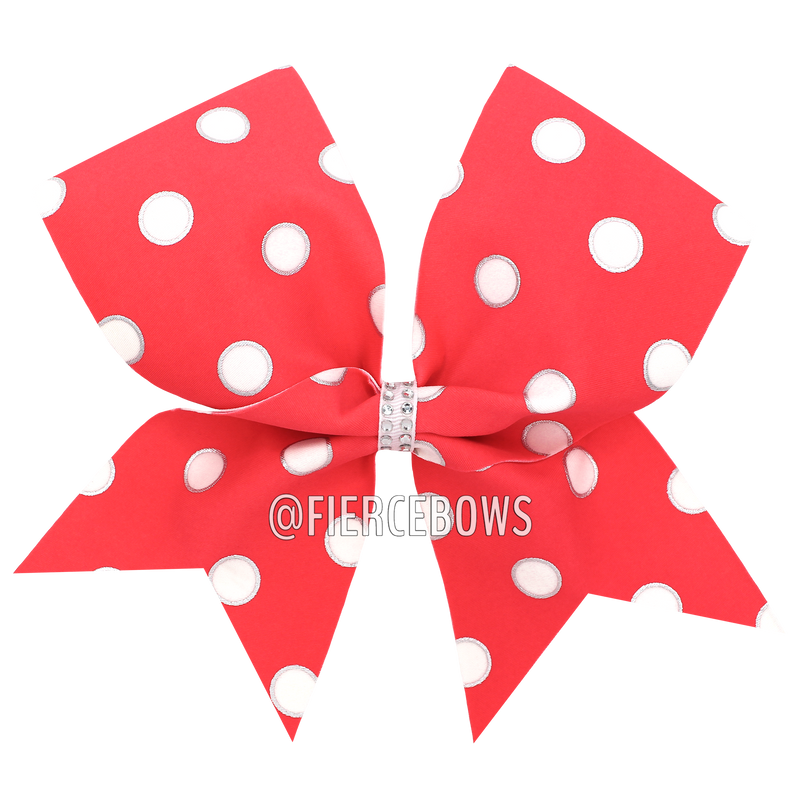 Polka Dot Princess Bow