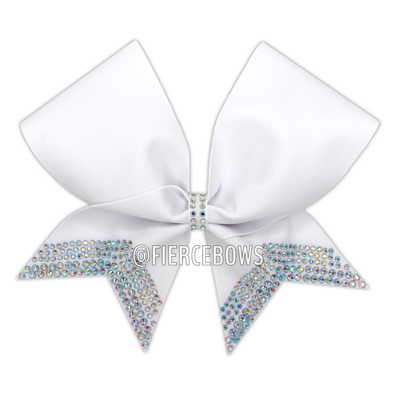 Just Tails Rhinestone Bow