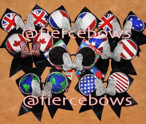 Global Mouse Rhinestone Bows