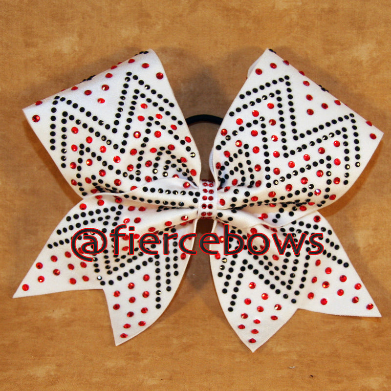 Just Because Two Color Two Color Rhinestone Bow