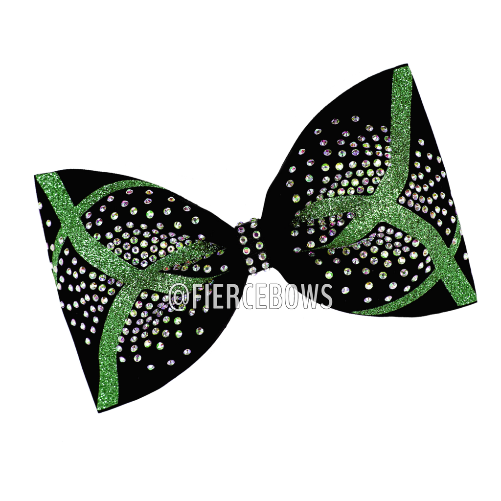 Bending The Rules Rhinestone Tailless Bow