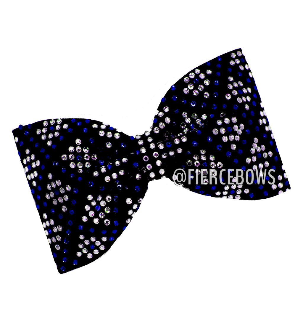 Making History Rhinestone Tailless Bow