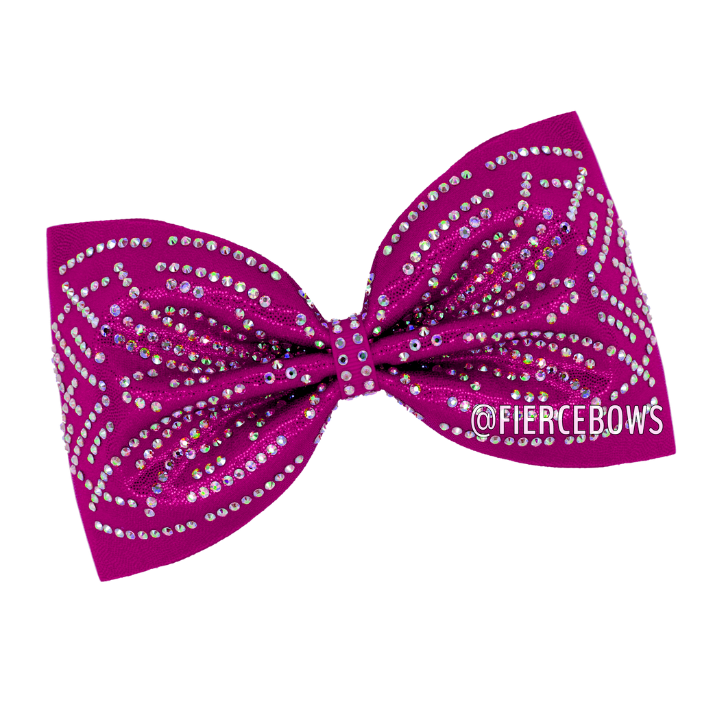 Malibu Nights Rhinestone Tailless Bow