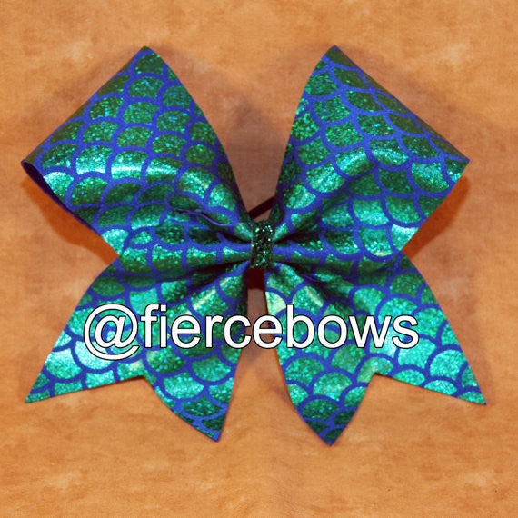Mermaid Dreams Cheer Bow