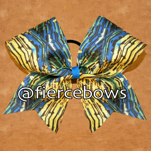 Metropolis Sublimated Cheer Bow