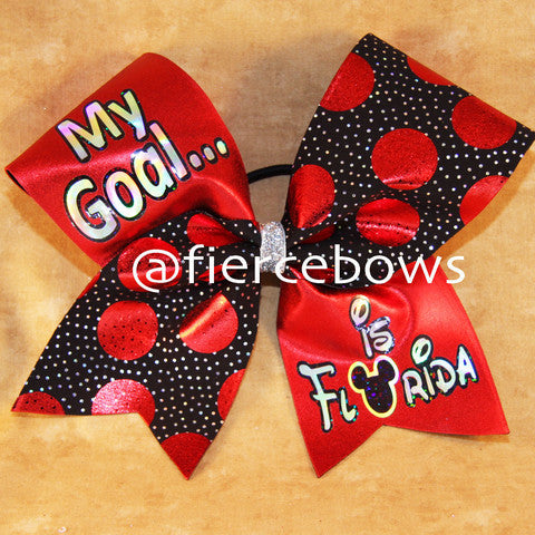 My Goal Is Florida Bow