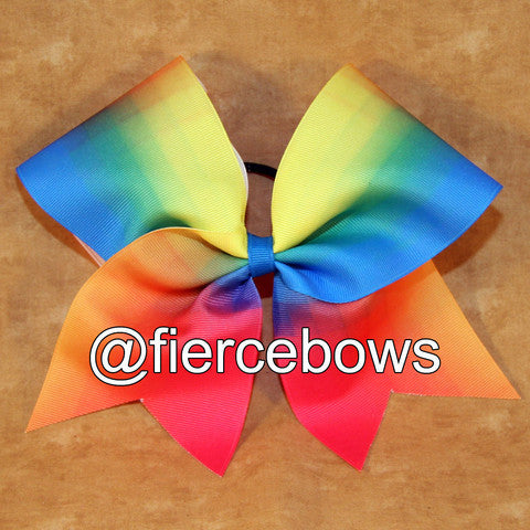 Neon Mash Up Sublimated Bow