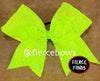 Neon Rain Sequin Bow