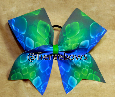 Ocean Dreams Cheer Bow