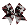 Glitter Camo Bow - Choose Your Color