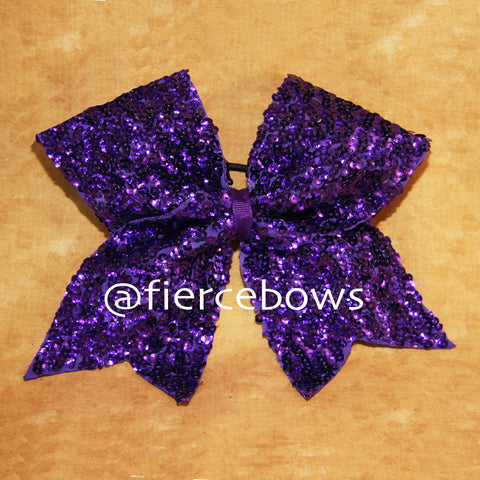 Purple Cup Style Sequin