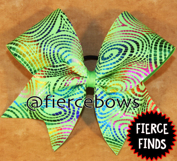 Rainbow Limeade Bow