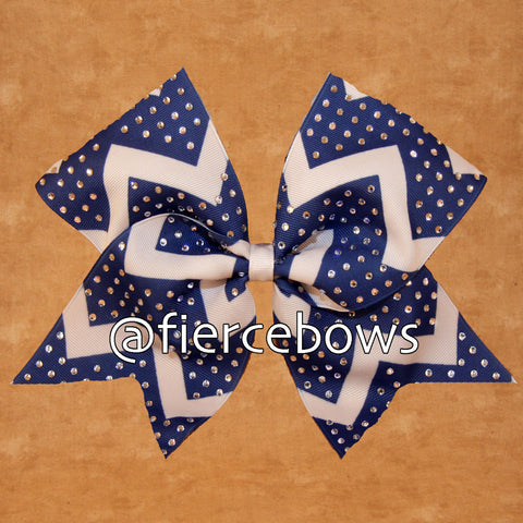 Rhinestone Chevron - Choose Your Color