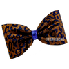 Glitter Camo and Rhinestone Tailless Bow