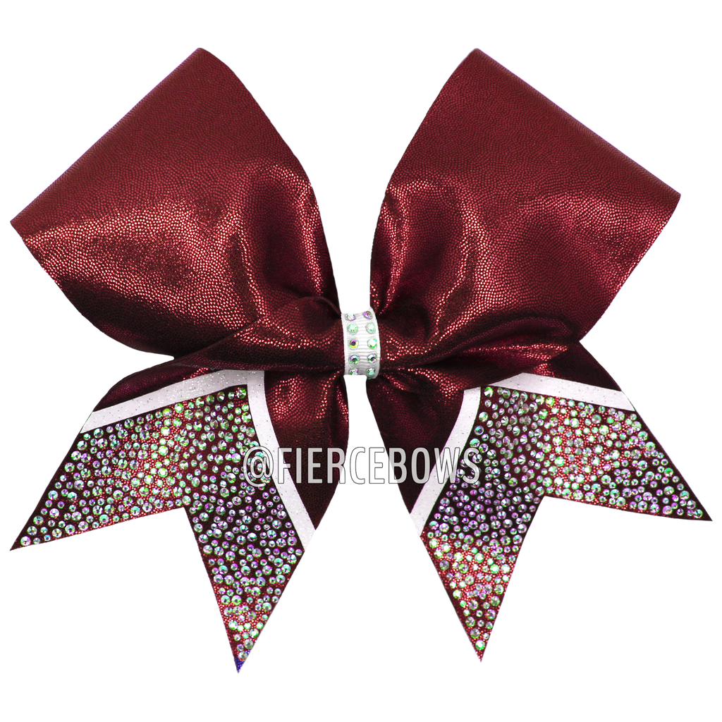 Simple Attraction Rhinestone Bow
