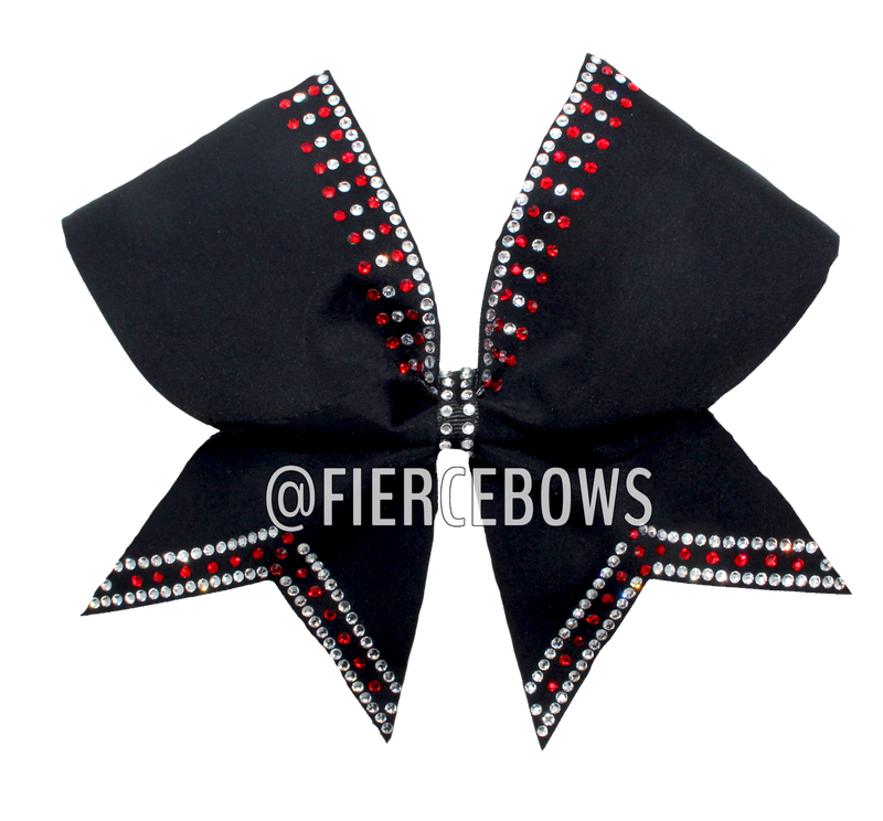 Tea For Two Rhinestone Tailless Bow