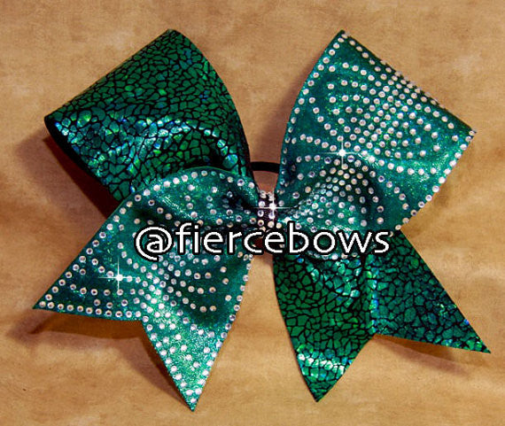 Split Decision Rhinestone Bow