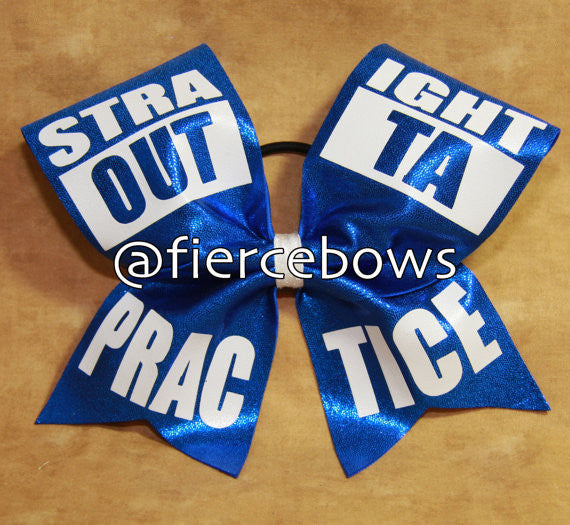 Straight Outta Practice Bow
