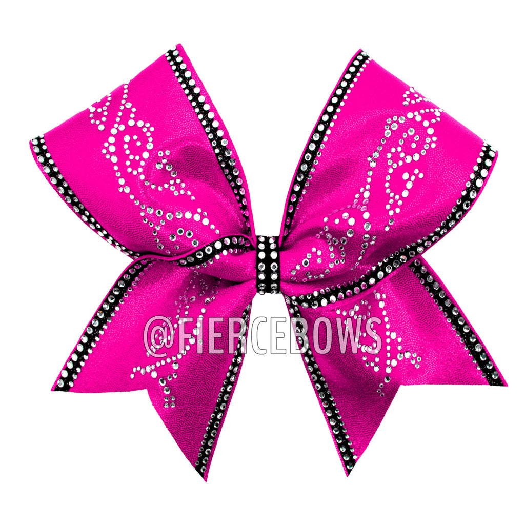 Sweet Caroline Rhinestone and Glitter Bow