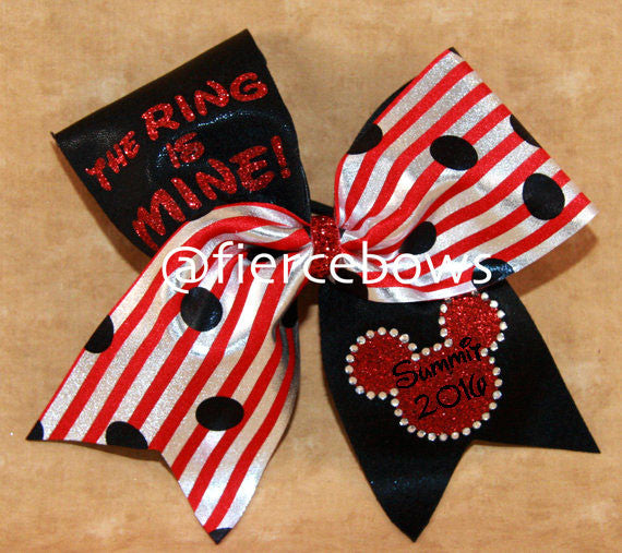 The Ring is Mine® Cheer Bow