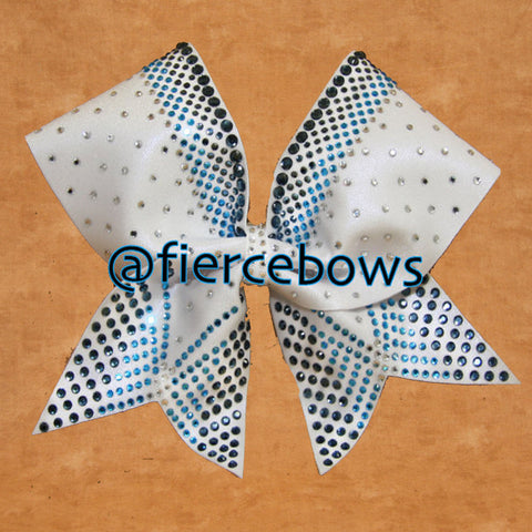 Triple Threat Three Color Rhinestone Bow