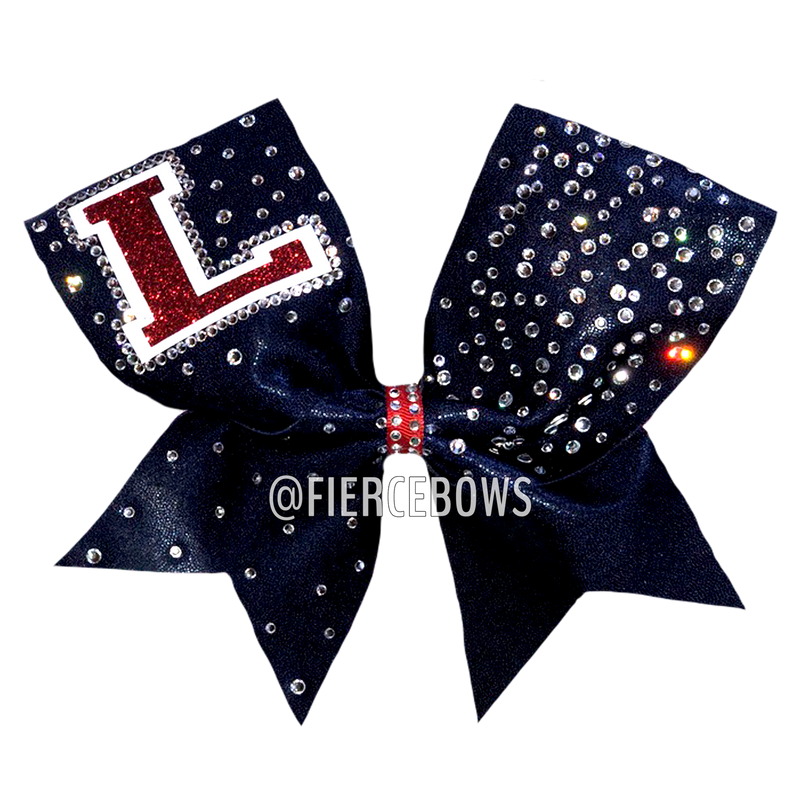 Game Face Rhinestone Bow