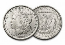100 year old morgan silver dollar bu
