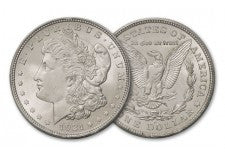 1921-D Morgan Silver Dollar BU