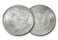 1884-P Morgan Silver Dollar BU