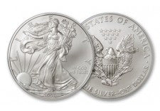 2007 1 Dollar 1-oz Silver Eagle BU