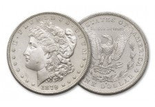 1879-S Morgan Silver Dollar BU