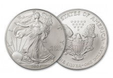 2004 1 Dollar 1-oz Silver Eagle BU