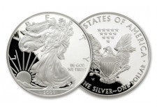2005-W 1 Dollar 1-oz Silver Eagle Proof