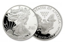 2004-W 1 Dollar 1-oz Silver Eagle Proof