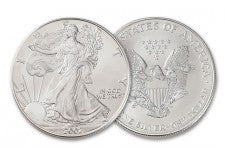2002 1 Dollar 1-oz Silver Eagle BU