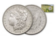 1879-S Morgan Dollar Ingalls Family BU