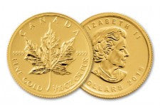 2015 Canada 1/10-oz Gold Maple Leaf BU