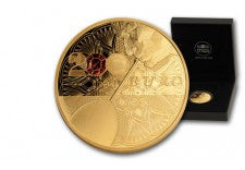 2014 France 1-oz Gold Baccarat Proof