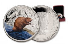 2015 Canada 1-oz Silver Beaver at Work Proof