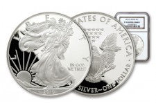 2010 1 Dollar Silver Eagle NGC/PCGS Proof 70