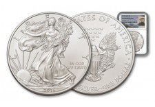 2015 1 Dollar 1-oz Silver Eagle NGC Gem Uncirculated
